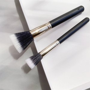 Duo Fibre Face Makeup Stippling Brush 187 188 Large Small Multi-Purpose lightweight Face Powder Foundation Blush Highlighter Beauty Cosmetic Tool