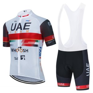 2021 UAE Cycling TEAM Jersey 19D Pants Sportswear Men Summer MTB Pro BICYCLING Maillot Culotte Clothing