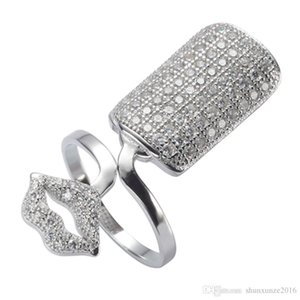 Product Sterling Ring Sellers 925 Nail Silver SS-3766 Cubic Reviews The New Wholesale Shinning White Rave Best Generous Rock Noble Zirc Egoc