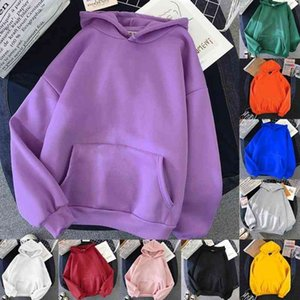 Litthing Women Hoodies Casual Planet Print Solid Loose Drawstring Sweatshirt Long Sleeve Hooded 2021 Autumn Female Pullovers