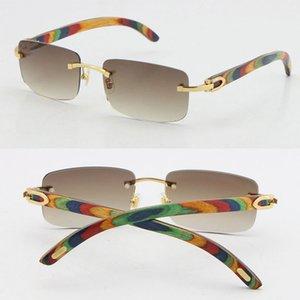 الجملة بيع الطاووس الخشب ديكور الشهيرة إطار متعدد خشبي النظارات الشمسية في الهواء الطلق القيادة جودة عالية الأزياء خمر uv400 عدسة حجم 56-18-140 ملليمتر