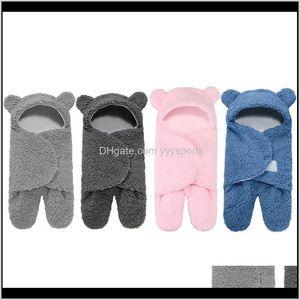 Swaddling Stroller Born Baby Winter Warm Sleeping Bags Wrap Blanket Rmnll Oz4Jt