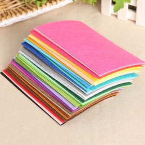 Felt Cloth 1mm Felt Fabric Polyester Fabrics Needlework Diy Needle Sewing Dolls Crafts Handmade Home Decoration DFF0182