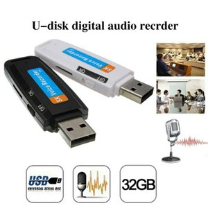 Digital Voice Recorder Mini Audio Dictaphone 32GB USB Flash Drive U-Disk Recording High Quality Easy To Carry