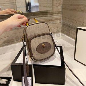 Lüks Tasarımcı Marka Moda Omuz Mini Bayan Çanta Çanta Yüksek Kaliteli Bayan Zincirleri Mektubu Çanta Cep Telefonu Cüzdan Çanta Çapraz Vücut Tüm Maç Güzel Metalik