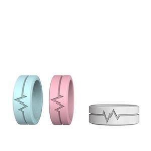 Luminous Glow Ring Glowing In The Dark Outdoor Jewelry Unisex Decoration for Women Men