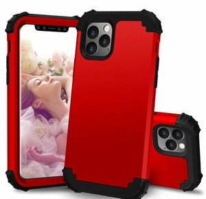 Cell Cases Shockproof Hybrid Heavy Duty Armor Defender Case For Phone 11 12 Pro Xs Max Xr X 8 7 6 6S Plus Rqqjn Vzaug