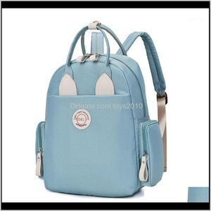 Bags Diapering Toilet Training Baby, Kids & Drop Delivery 2021 Diaper Large Capacity Waterproof Baby Bag Mum Mummy Maternity Nappy Backpack F