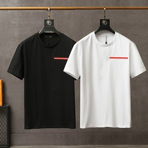 2021 men's T-shirt summer short round neck cotton Pullover fashion letters high quality designer Street luxury clothing