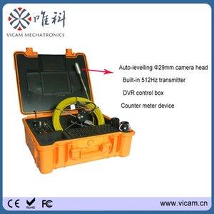 Викам 30 м кабеля водонепроницаемый IP68 видео труба канализационная камера с 15 шт. Светодиодные фонари V8-1288TC IP-камеры