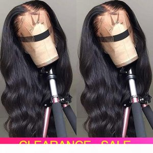 CHEAP HD Transparent Lace Frontal Wigs 180 Density Wavy Body Wave Lace Front Wig T PART Lace Front Human Hair Wigs Brazilian Wig