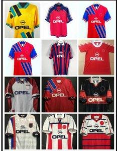 94 95 96 97 98 99 Bayern München Retro Fussball Trikots 00 01 02 Finale Zickle Effenberg Elber Pizarro Scholl Matthaus Klinsmann Football Shirts 1998 1999