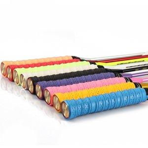 Anti-deslizamento Esporte respirável sobre o aperto de tênis de suor de grip Overgrips tape badminton raquete aperta de suor 533 Z2