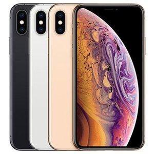 Refurbished Original Apple iPhone XS Max 6.5 inch iOS A12 Bionic Hexa Core 4GB RAM 64 256 512GB ROM 12MP Unlocked 4G LTE Smart Mobile Phone Free DHL 10pcs