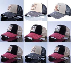 2021 washed Embroidered high quality Baseball Caps Men Golf snapback cap Designer fashion Women style animal hat