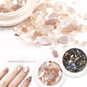 Japanese And Korean Series Nail Shell Pieces Color Stone Irregular Seashell Sequins DIY Art Charm Decoration Accessories Decorations