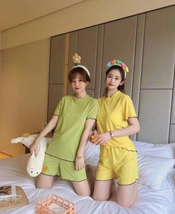 edge Barbie summer refreshing ear cool and thin short sleeve shorts suit two piece set