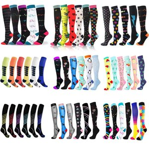 Dropship Compression Socks Wholesale Men Women Soccer Sports Unisex Outdoor Running Pressure Stockings Fitness Men's