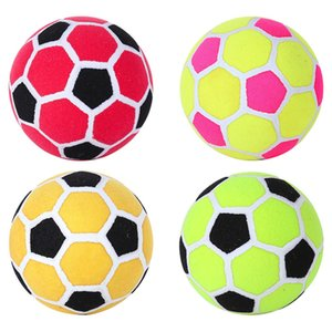 Colorful sticky soccer ball stick past covers football for dart board target game whitout pump