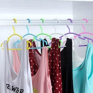 Portable Clothes Hanger Kids Children Toddler Baby Coat Plastic Hangers Hook Household Selling Organizer 10Pcs Lot & Racks