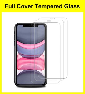 Anti-fingerprint 9H Screen Protector for iPhone 12 13 Mini Pro Max 11 XR XS 7 6 8 Plus Bubble Free Clear Tempered Glass With Retail Package