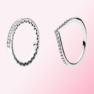 2019 Fall 100% 925 925 sterling silver BEADED WISH RING Charm Fit DIY Ring Women's Fashion Jewelry Free