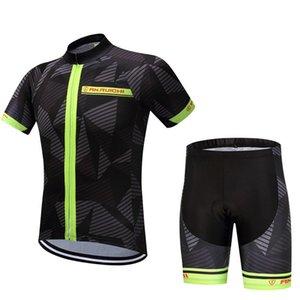 Yarış Setleri 2021 Koşu Dağ Bisikleti Spor Eğlence Bisiklet Ekipmanları Rahat Nefes Kısa Kollu Sürme Takım Elbise CYSU0089