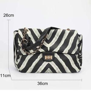 HBP fashion tote bags female package qiu dong joker western zebra high-capacity stray bag shoulder purse