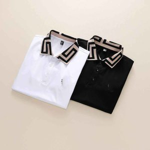Spring Luxury Italy Tee T-Shirt Designer sPolo Shirts High Street Embroidery Garter Snakes Little Bee Printing Clothing Mens Brand Polo Shir