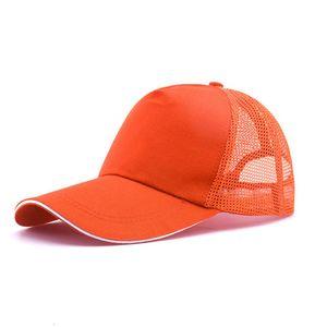 2021 good quality hats adjustable baseball caps men fashion hat summer trucker casquette women causal cheap mesh ball cap 6 colors
