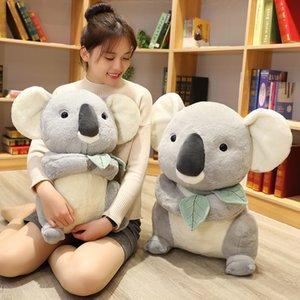 Büyük Yumuşak Koalas Ayı Peluş Oyuncaklar Macera Koala Bebek Kawaii Simülasyon Anne Çocuklar Koalas Doğum Günü Noel Hediyesi Çocuklar Için Bebek