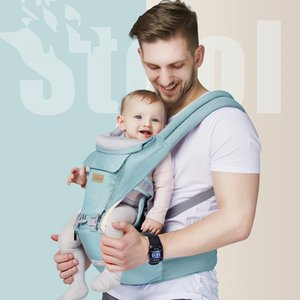 Baby Carriers Slings Backpacks Front Hold Multi-Functional Maternal And Infant Supplies Wholesale Newborn Kids Waist Stool Strap Is Universal In All Seasons