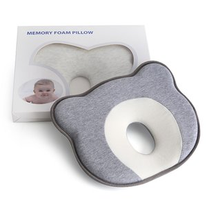 Baby pillow Memory Foam newborn Breathable Shaping Pillows To Prevent Flat Head Ergonomic