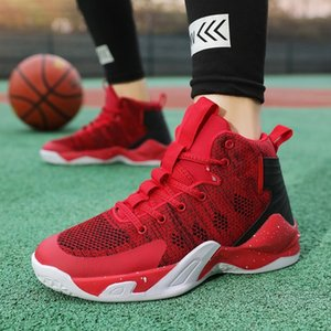 Athletic & Outdoor Spring and Autumn 12 Middle School Kids' Sports 10 Boys' 13 Deodorant Breathable Mesh 15-year-old Men's Basketball Shoes