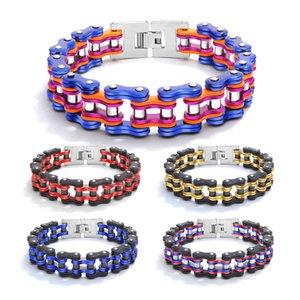 OPK bicycle Bracelet titanium steel personality men's motorcycle chain fashion men's bracelet accsori