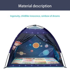 Tents and Shelters Outdoor portable thickening automatic antiskid camping equipment for children's star tent