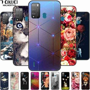 For Itel Vision 1 Pro Case Phone Cover Vision1 Soft TPU Silicone Cases for L6005 P36 Play Coque Black Bumpers Capa