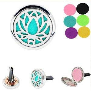 Shape Car Air Freshener Perfume Diffuser Clip Auto Vent Decoration Locket With 2pcs Rand