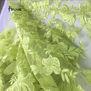 Ribbon Embroideried Nigerian Lace Fabrics For Wedding 2021 High Quality Dresses Fabric Floral Woman