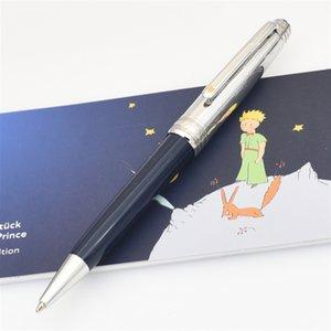 Edizione limitata di alta qualità di lusso Blu Dark Blue Little Prince Ballpoint Pen Designer Scrittura Scrittura Bello aspetto nobile Signature Regalo di compleanno Facile da usare Classico