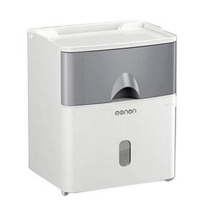 Toilet Paper Holders Multifunction Holder Waterproof Tissue Storage Box Creative Wall Mount Bathroom Accessories