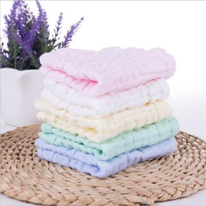 Towel 5-pack Six-layer Colorful Cotton Towels