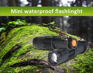 Flashlights Torches Q5 Mini Torch Light High Power Led Ultra Tactical Handheld For Camping Hunting Lighting