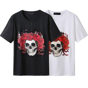 Summer Designer Hommes T-shirts Hommes Femmes Lettre Logo Tees Noir Blanc Casual Lâche Lâche Slim Street Street Design T-shirts Bonne qualité taille M-4XL