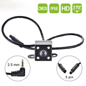 1pcs 5 Pin Car Rear View Camera Reverse 170 Degree Wide Angle Recording Parking Waterproof Color Image Video Camera