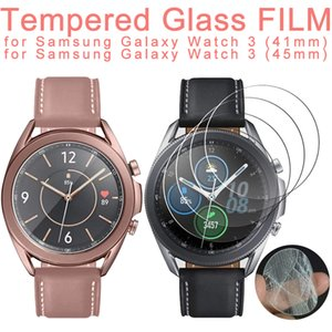 9H Premium Tempered Glass Film For Samsung Galaxy Watch 3 41MM 45MM 42MM 46MM Gear S3 S2 Smartwatch Screen Protector