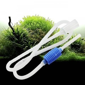 Aquarium Siphon Tube Fish Tank Cleaner Vacuum Gravel Cleaner Sand Trap Filter Water Exchange Tool Suction Pipe Tube
