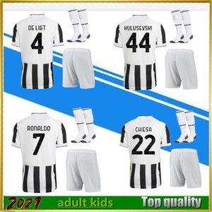 2021 2022 Fußball tragen Männer und Kinder Fußballtrikots Set 21/22 Shirt Kits + Socken Uniformen Verkäufe