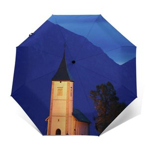 Umbrellas Primus Umbrella Protection Automatic Cool Painting Reinforced Garden