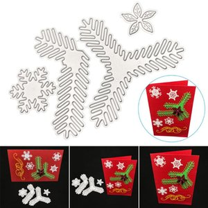 Greeting Cards Carton Leaf Flower Cutting Dies With Durable Carbon Steel Easy Operation Reusable Long Lasting Lightweight For DIY Card GRSA8